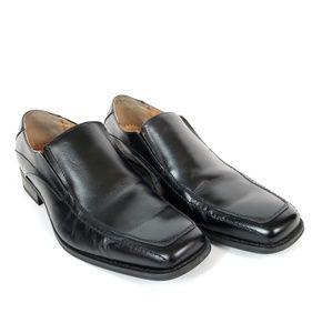 Joseph Abboud Black Slip on Loafer Mens 12M
